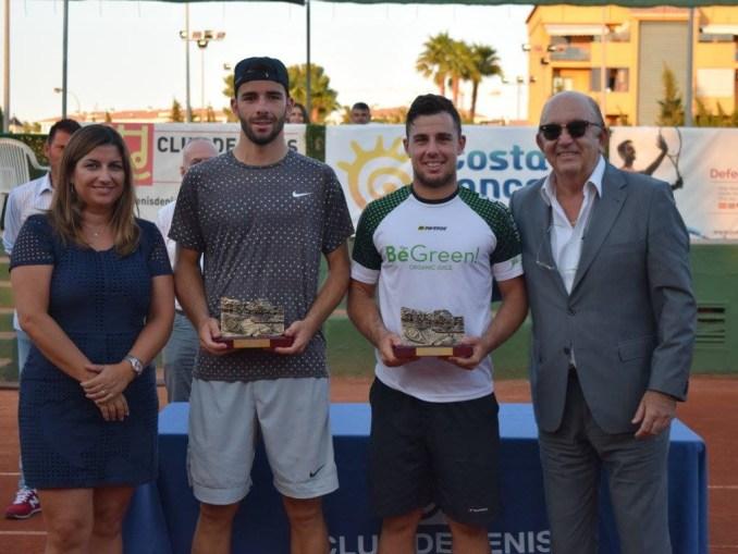 Alberto Barroso vence en dobles en el ITF Futures de Denia