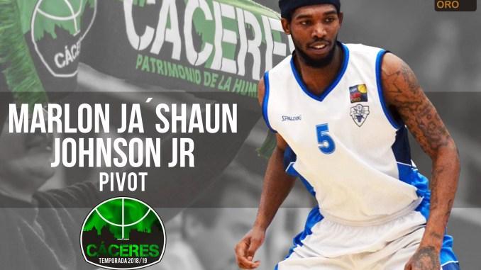 Marlon Ja'Shaun Johnson Jr, se incorpora al Cáceres Patrimonio de la Humanidad