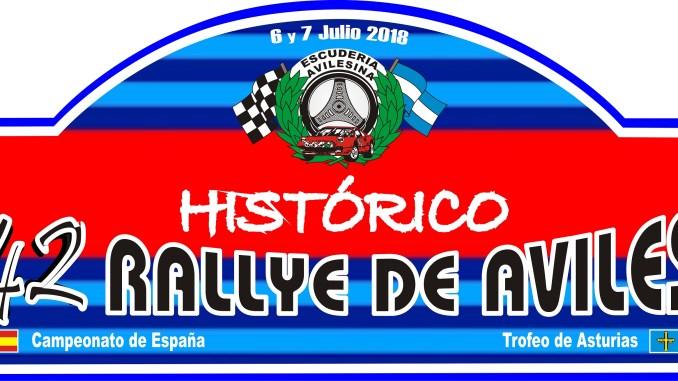 Placa - Concha Velázquez en el Rallye de Avilés Histórico
