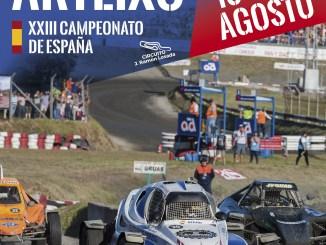 Tres pilotos de Ráfagas Racing en el Autocross de Arteixo