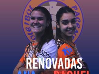 Ana Cuesta y Raquel del Álamo renuevan por el Extremadura Hotel Río Badajoz