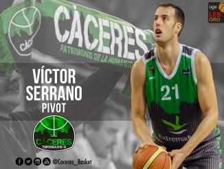 Víctor Serrano regresa al Cáceres Patrimonio de la Humanidad