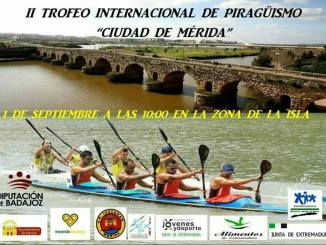 Elena Ayuso competirá en el II Trofeo Internacional de Piragüismo 'Ciudad de Mérida'