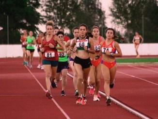La atleta berlangueña Laura Barragán de 18 años, vuelve a competir después de más de un año de recuperación