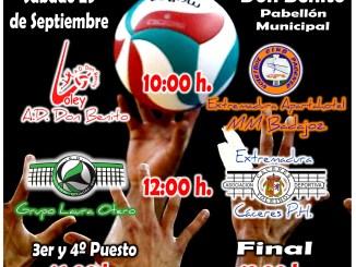 Don Benito acogerá el Torneo de Voleibol de Élite Masculino Diputaciones Provinciales