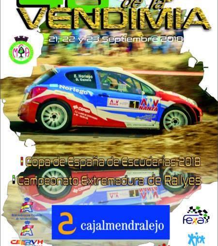 Todo listo para el 48 Rallye de la Vendimia