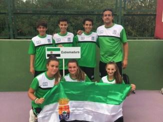 Buenos resultados del combinado extremeño en el Campeonato de España Infantil de Tenis