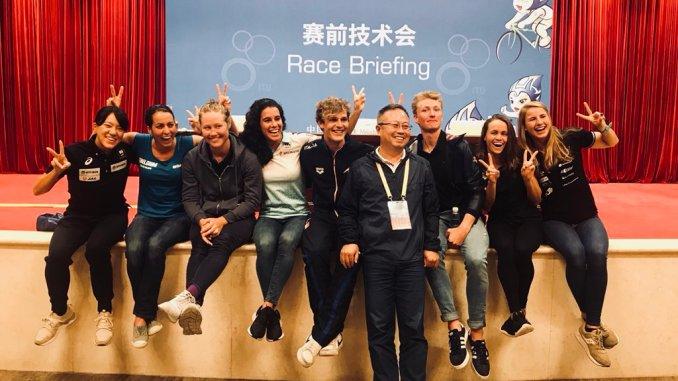 Miriam Casillas sube al podio en la Copa del Mundo de Weihai