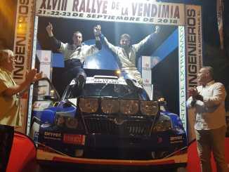 Noriego y Canelo repiten victoria en el Rallye de la Vendimia