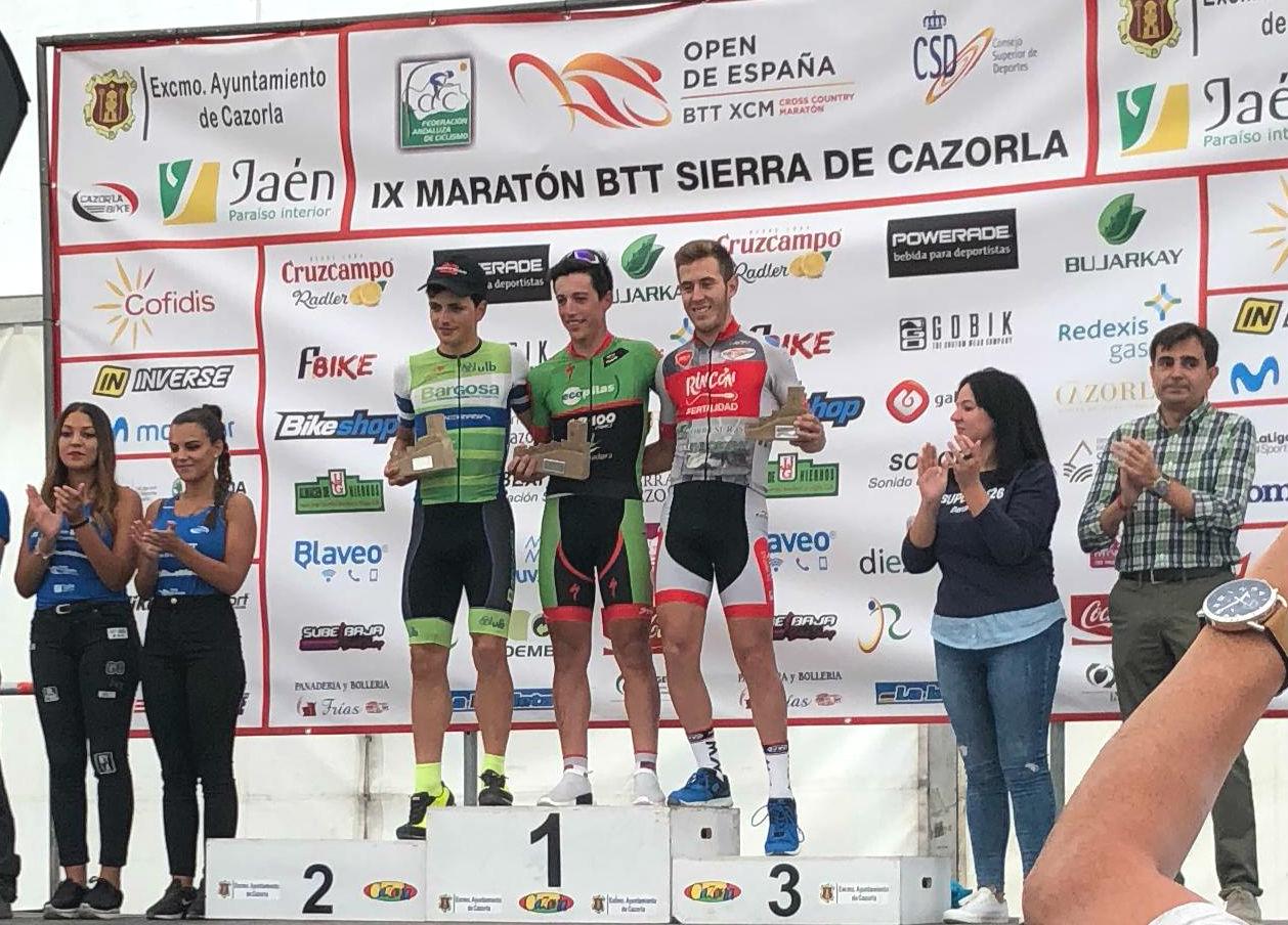 Pedro Romero gana en la Sierra de Cazorla y se pone líder del Open de España XC Maratón
