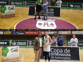 El CB Extremadura Plasencia se lleva la Copa de Extremadura