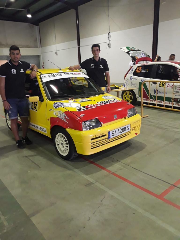 Colorado y Martín en busca del triunfo de la Copa FEXA-RallyAl en el RS Culebrín - Pallares