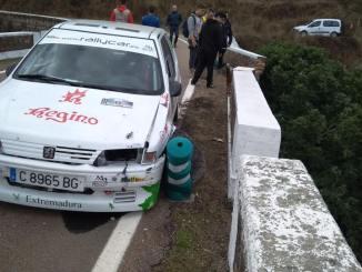 Los accidentes lastran al Extremadura Rallye Team en Culebrín-Pallares