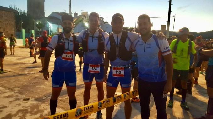 """El equipo del TRAIL CAPEX consigue la segunda posición por equipos en el """"XI Trail Ultra Artesanos"""""""