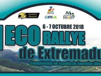 El Eco Rallye Ciudad de Plasencia se celebra este fin de semana