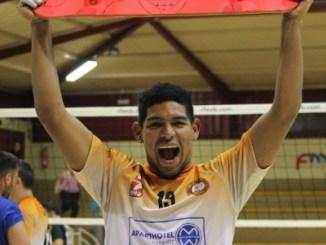Miguel Villasmil, jugador del Extremadura Aparthotel MM Badajoz, nombrado MVP de la jornada