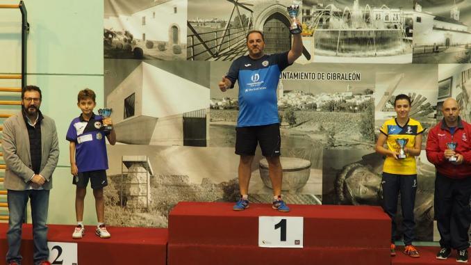 Dos medallas para el Tenis de Mesa Almaraz en el Zonal Nacional disputado en Gibraleon (Huelva)