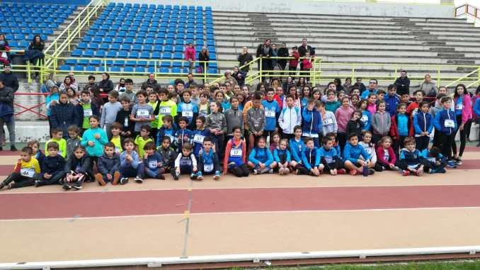 Resumen del I Encuentro Interclubes en las Pistas de Atletismo Don Benito