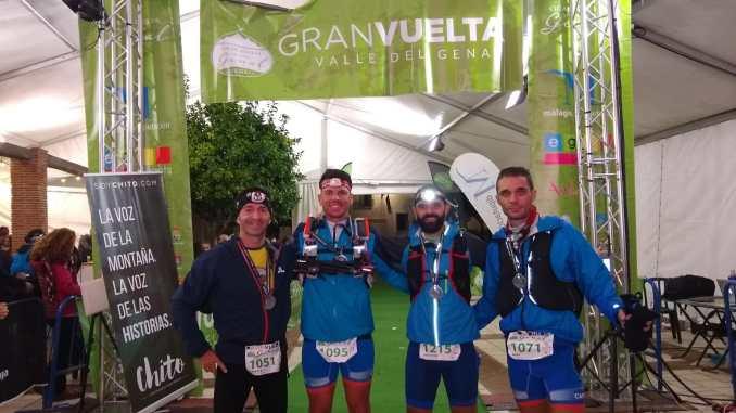 Tres corremontes del CAPEX consiguen coronarse como campeones por equipos de la Ultra Trail Gran Vuelta al Valle del Genal