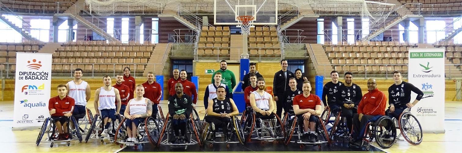 Experiencia positiva para el Mideba Extremadura con la selección británica
