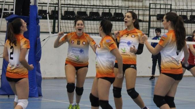 El Aparthotel MM Badajoz sigue con la racha de victorias en su primer partido del fin de semana (3-1)