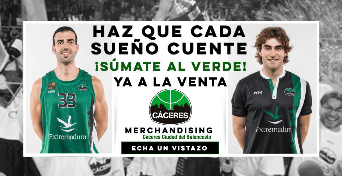 El Cáceres Patrimonio de la Humanidad pone a la venta las camisetas oficiales 18/19
