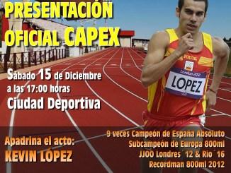 Inauguración de las pistas de Atletismo y Presentación Oficial del CAPEX