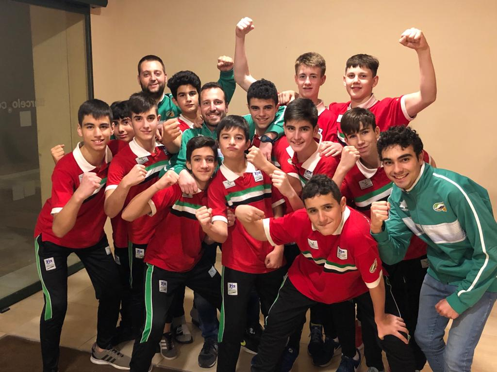 Balance de las Selecciones Extremeñas en el Campeonato de España de SSAA Cadete e Infantil en Huelva