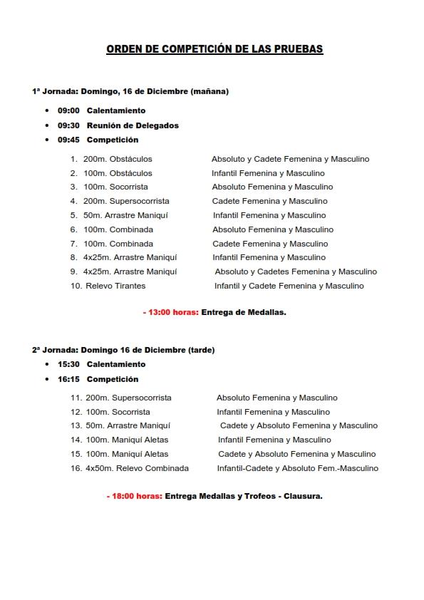 II Trofeo Nacional Calabazón de Salvamento y Socorrismo en Don Benito