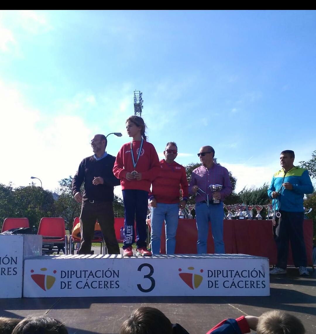Resultados del Club Atletismo Don Benito en el XXXV Trofeo Diputación de Cáceres de Campo a Través