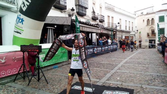 Daniel Remón y Beatriz González, vencedores del I Trail Jerez de los Caballeros - Sierra San José
