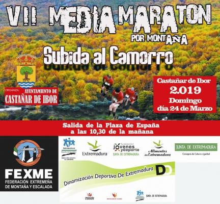 Previa VII Media Maratón por Montaña Subida al Camorro 24 de Marzo Castañar de Ibor