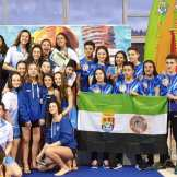 El Club Salvamento Don Benito se proclama Subcampeones de España por Equipos en la Categoría Cadete Masculino