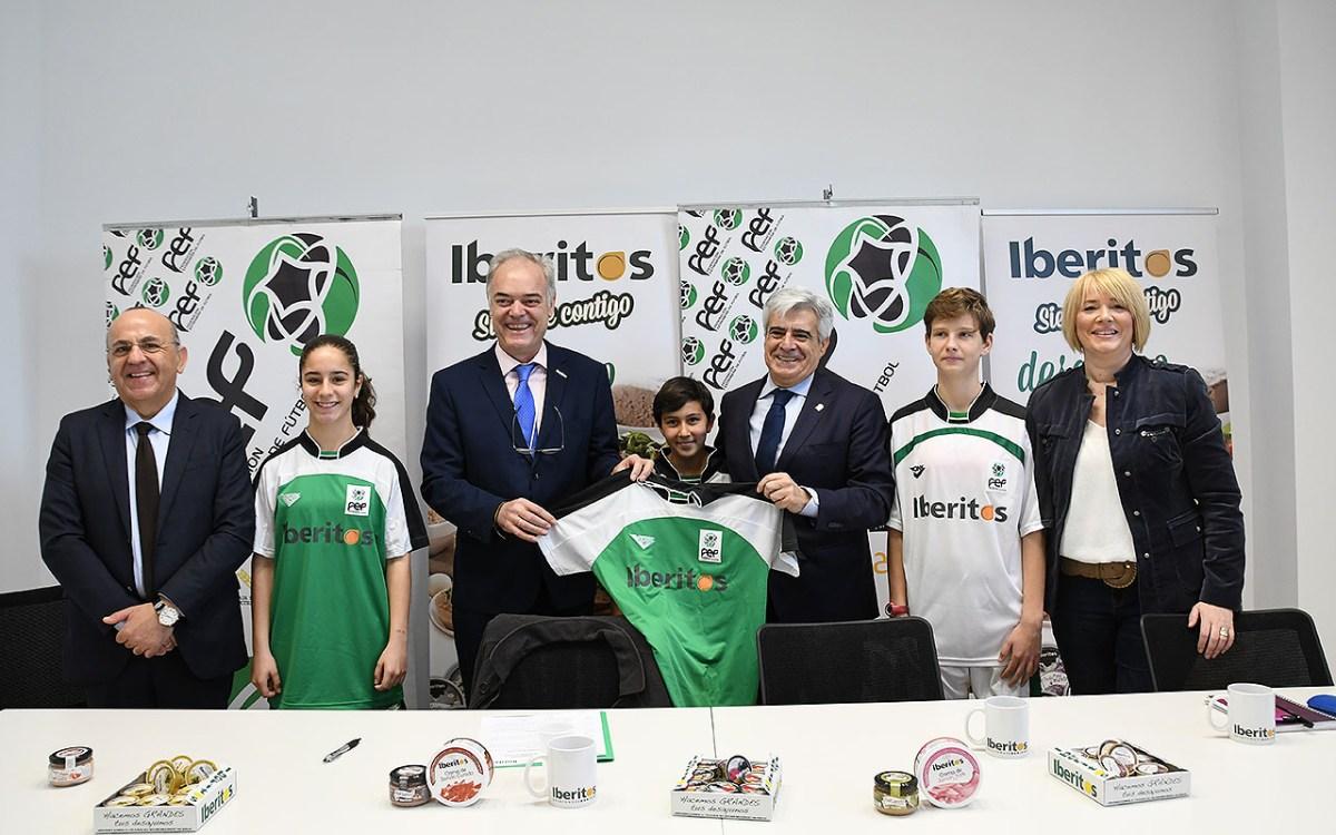 Iberitos, nuevo patrocinador del Fútbol Femenino Extremeño