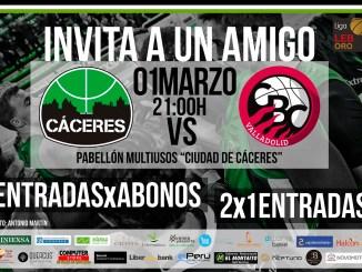El Cáceres lanza una promoción para el próximo choque