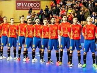 Programa de actividades de la Selección Española Absoluta de Fútbol Sala en Cáceres