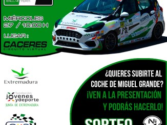 El Extremadura Rallye Team presenta sus credenciales para la nueva temporada