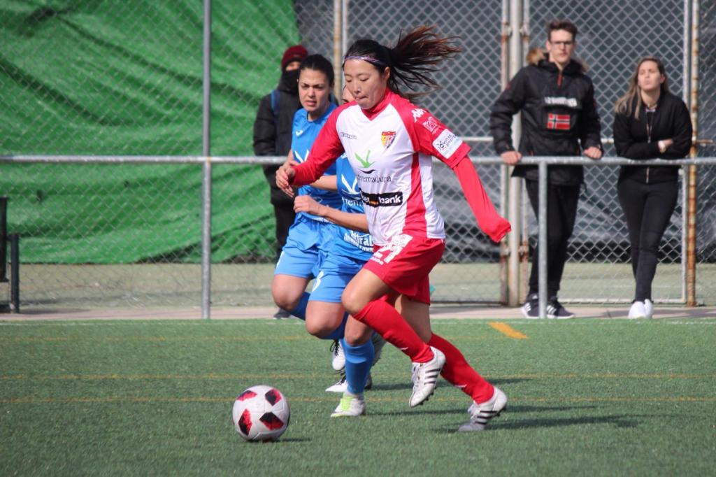Victoria en Plasencia con doblete de Ayano y gol de Belén