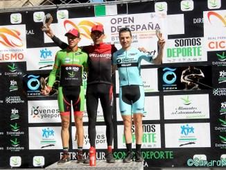 Gran actuación del Extremadura-Ecopilas en el Maratón Templario-Open de España con Díaz de la Peña y Benavides subcampeones en élite y sub23
