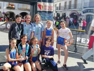 El Club Atletismo de Alburquerque subcampeón de Extremadura de carreras por montaña de la Fexme