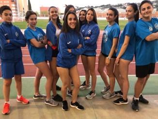 Buenos resultados del Club Atletismo Don Benito en la I Jornada de Pista al Aire Libre