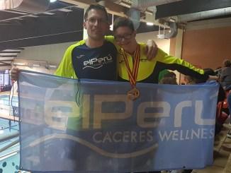 Guillermo Gracia pulveriza el récord de España de natación de 400 libres