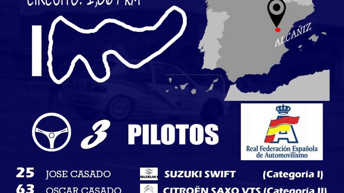La Escudería Ráfagas Racing arranca en el Campeonato de España de Auto Cross de MotorLand Aragón