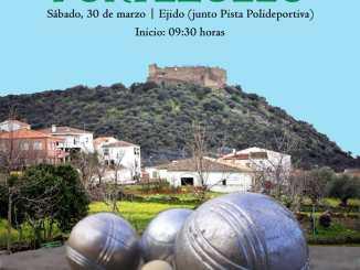 XV Torneo de petanca Mancomunidad Rivera Fresnedosa, este Sábado en la Villa de Portezuelo