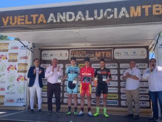 Manu Cordero subcampeón de la Vuelta Andalucía MTB y reina en la categoría sub23