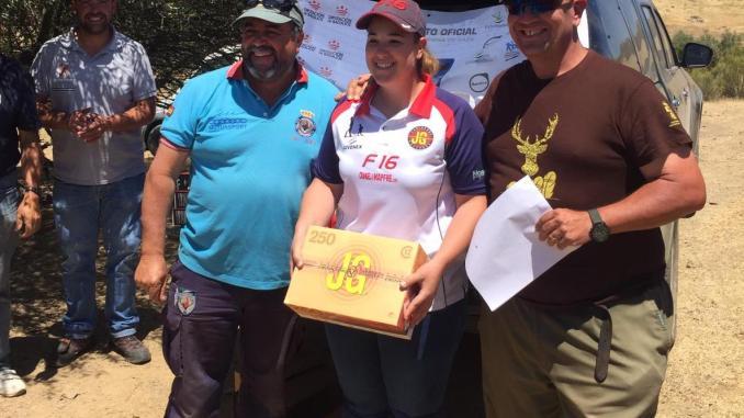 Ana María Verdasco gana la segunda fase puntuable del Campeonato de Extremadura de Recorridos de Caza