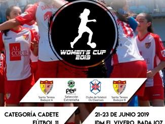Presentación IX Women's Cup Ciudad de Badajoz, jueves 20 de junio