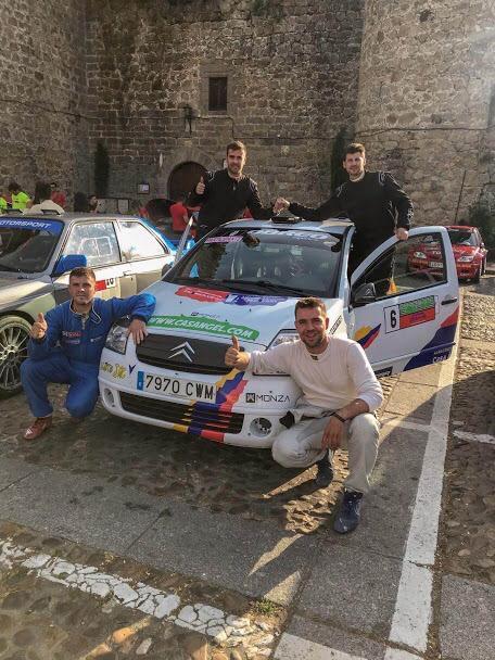 Argueta y Flores quintos en el Rallysprint Guisando -Arenas de San Pedro