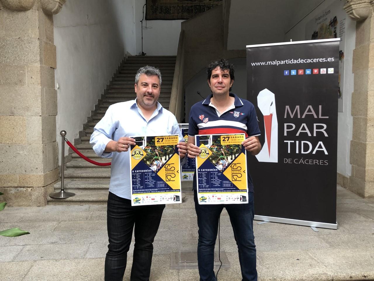 Decimotercera edición del 3 x 3 Baloncesto en la calle de Malpartida de Cáceres