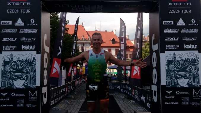 Toni Franco Campeón de Europa X-TERRA en Prachatice (República Checa)